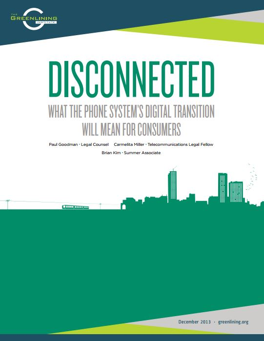 Disconnected: What the Phone System's Digital Transition Will Mean for Consumers