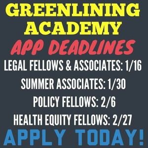 Apply to the Greenlining Academy!